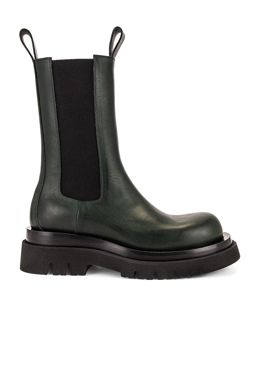 Image 1 of Bottega Veneta Lug Chelsea Boots in Camping