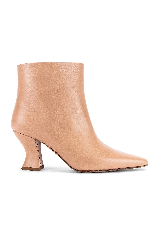 Image 1 of Bottega Veneta Leather Ankle Boots in Cipria