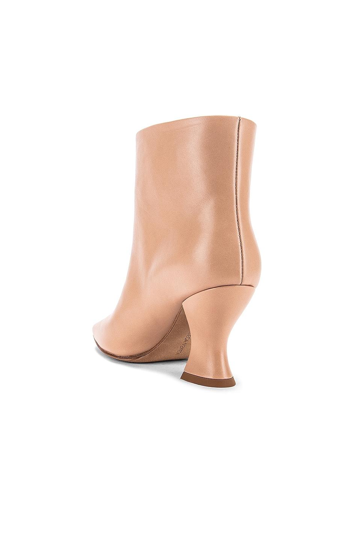 Image 3 of Bottega Veneta Leather Ankle Boots in Cipria