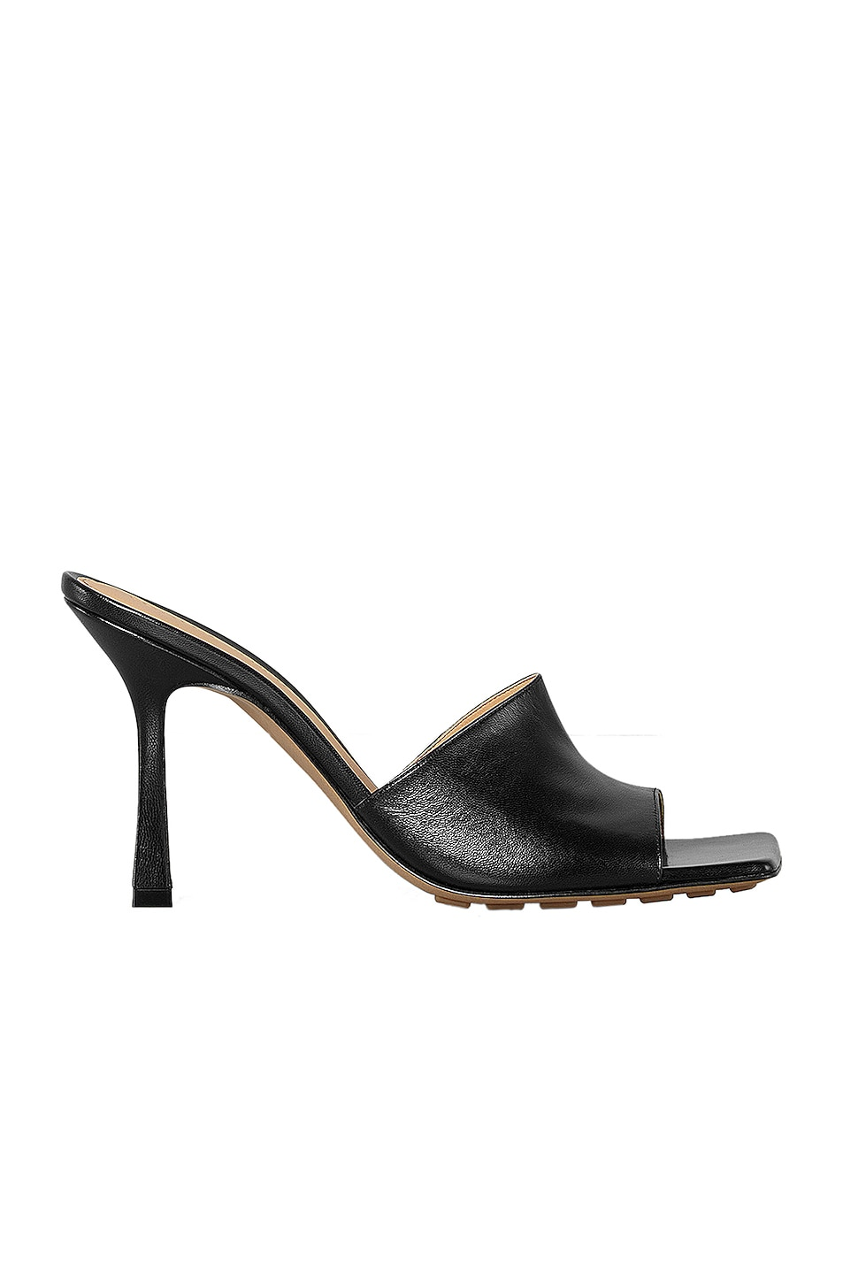 Image 1 of Bottega Veneta Leather Mules in Black