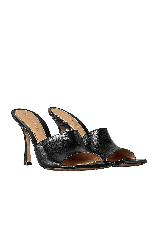 Image 2 of Bottega Veneta Leather Mules in Black