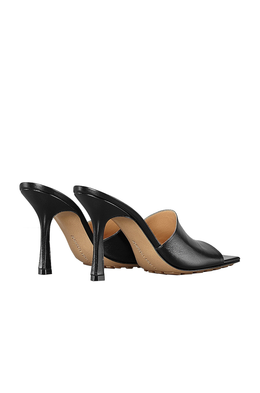 Image 3 of Bottega Veneta Leather Mules in Black