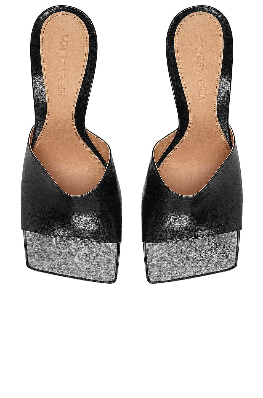 Image 4 of Bottega Veneta Leather Mules in Black