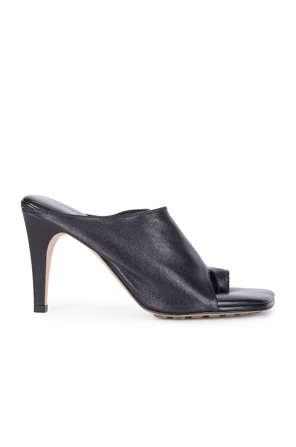 Image 1 of Bottega Veneta Open Toe Mules in Black