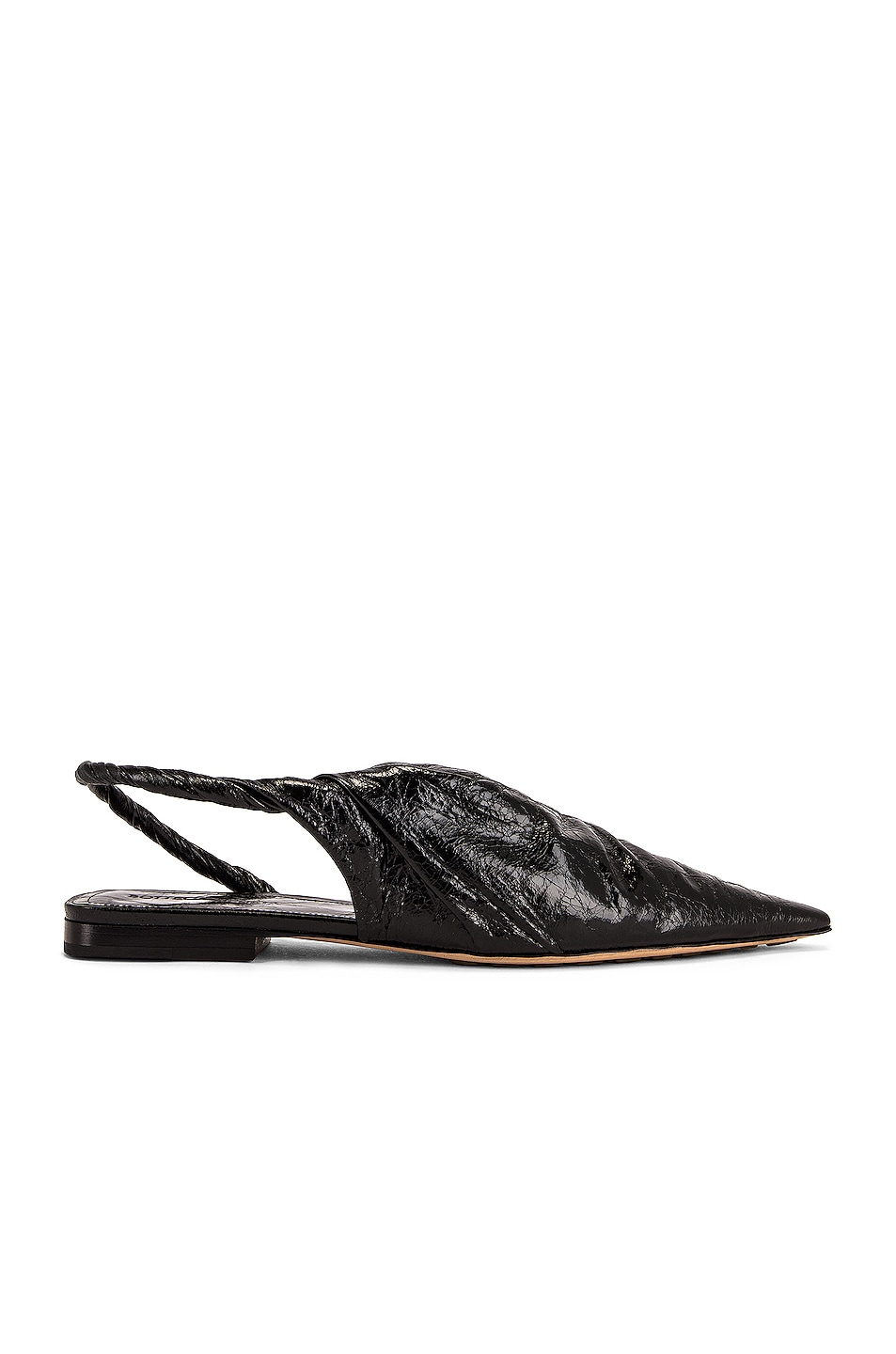 Image 1 of Bottega Veneta The Point Flats in Black