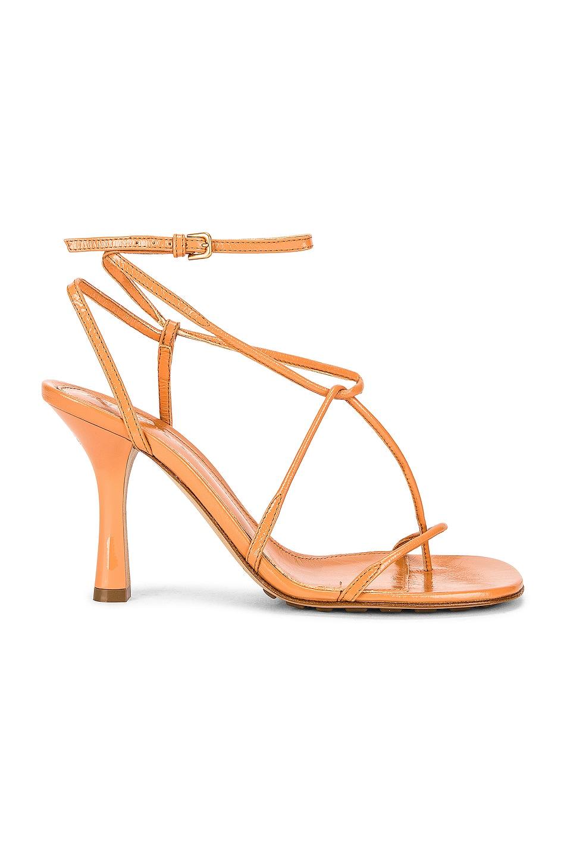Image 1 of Bottega Veneta The Line Sandals in Clay