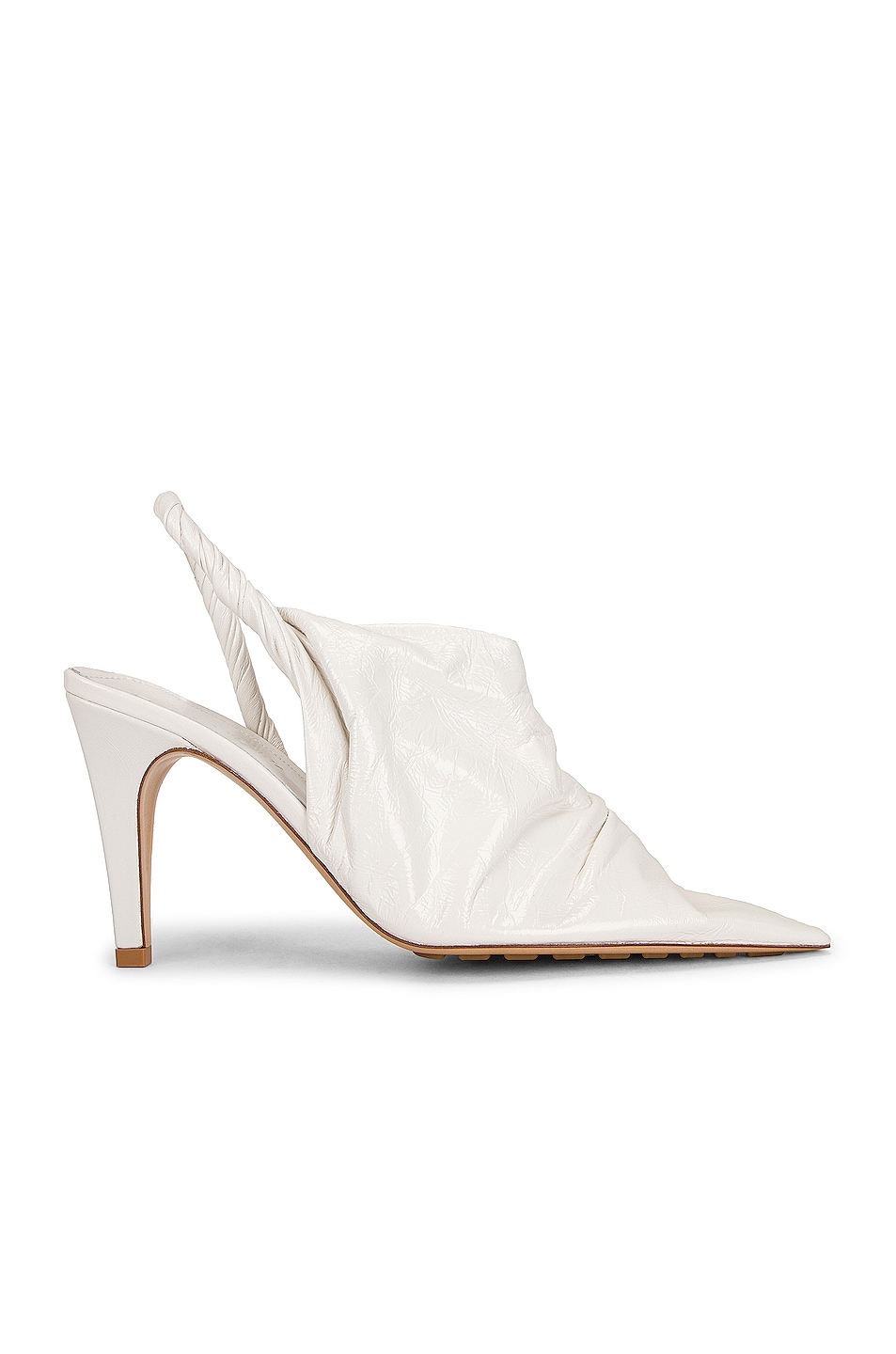 Image 1 of Bottega Veneta BV Point Pumps in White