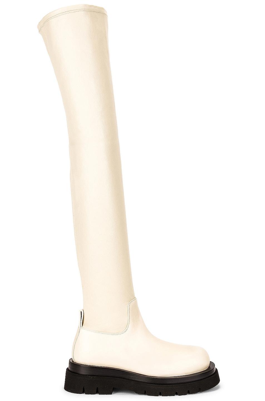 Image 1 of Bottega Veneta The Lug Boots in Wax & Wax