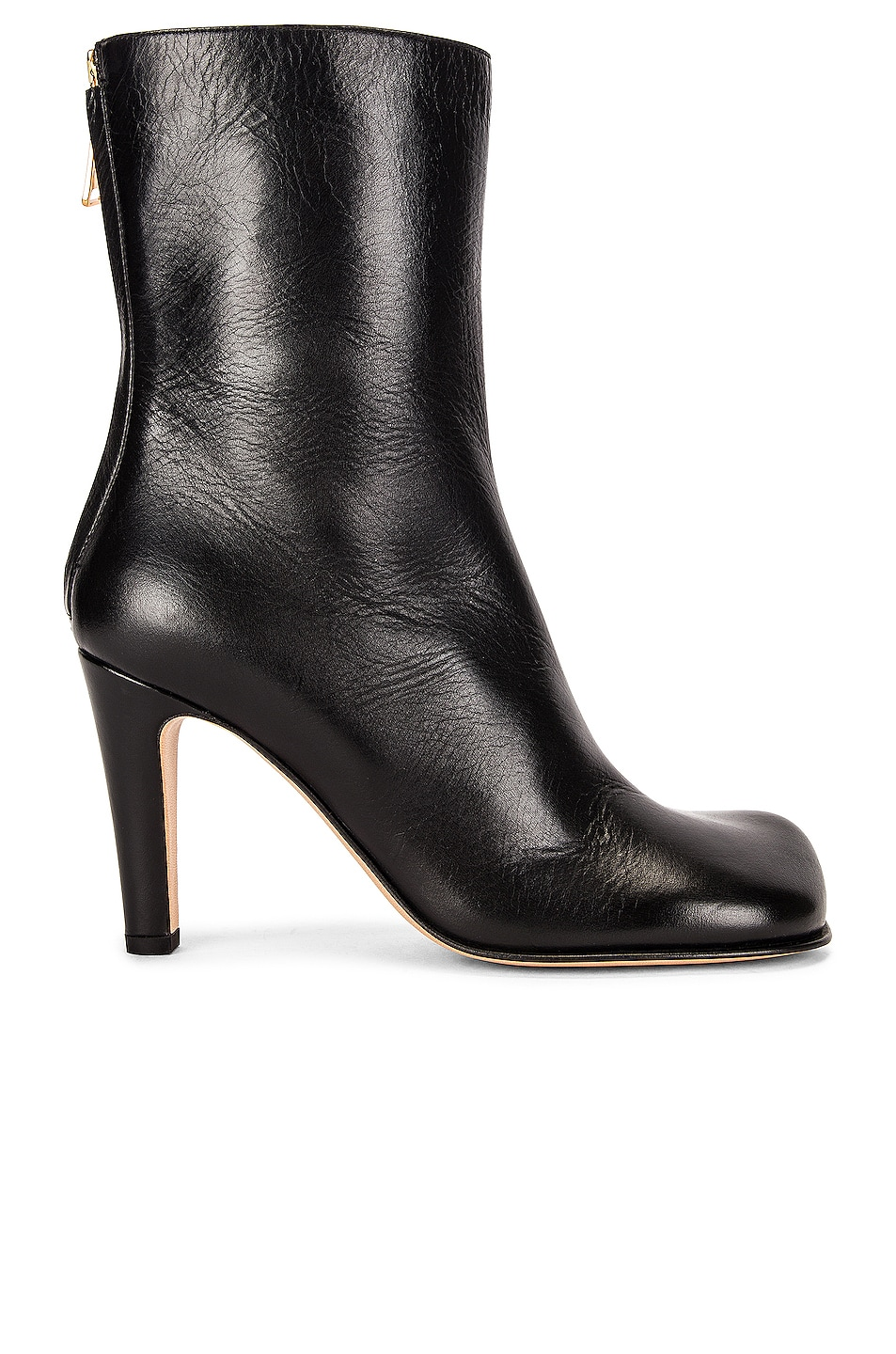 Image 1 of Bottega Veneta Round Toe Boots in Black