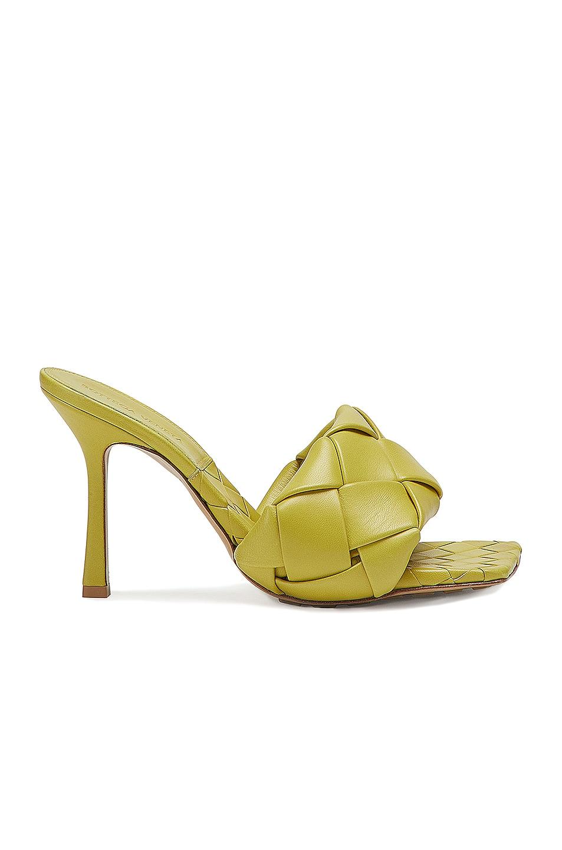 Image 1 of Bottega Veneta The Lido Sandals in Acid