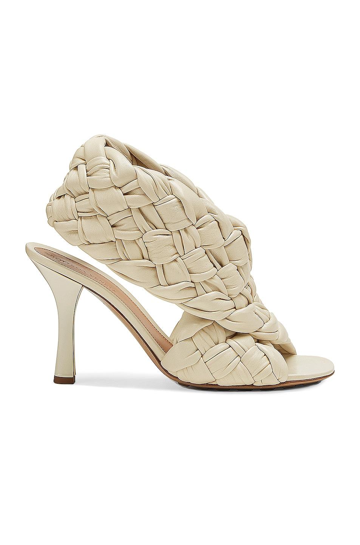 Image 1 of Bottega Veneta BV Board Sandals in Wax