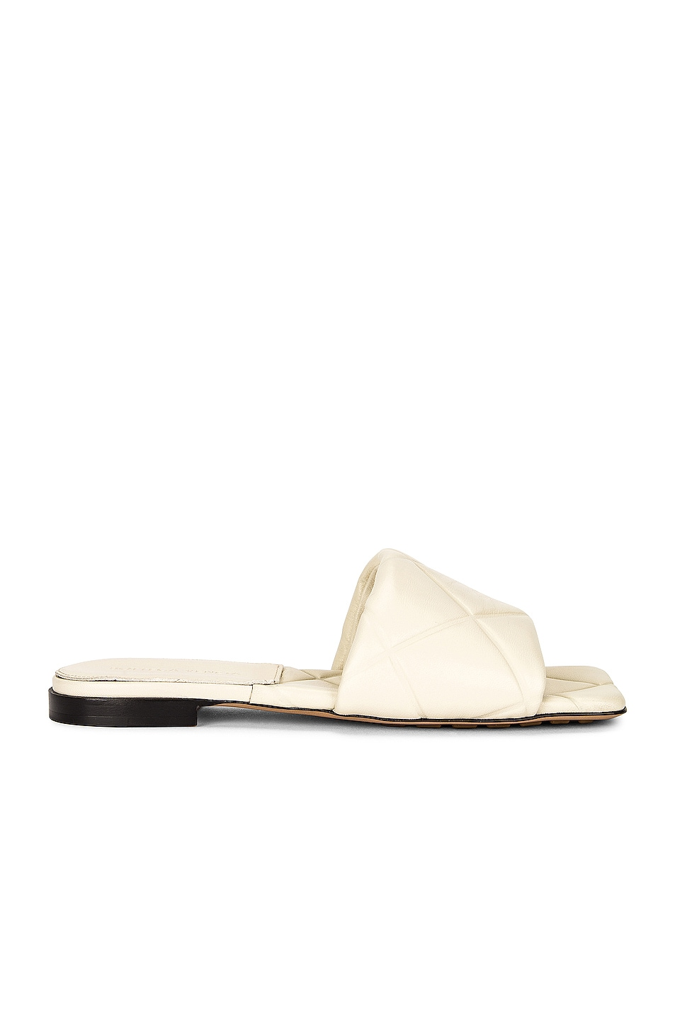 Image 1 of Bottega Veneta BV Rubber Lido Sandals in Wax