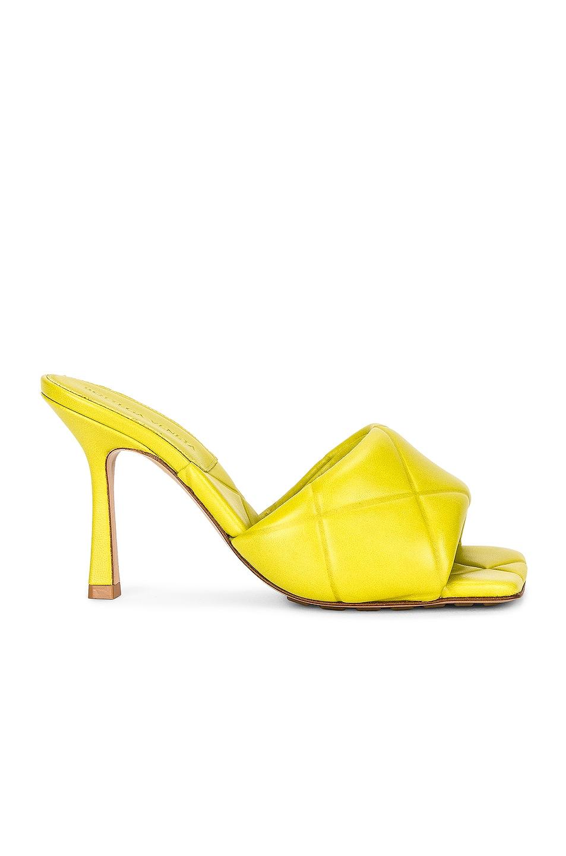 Image 1 of Bottega Veneta The Rubber Lido Sandals in Kiwi