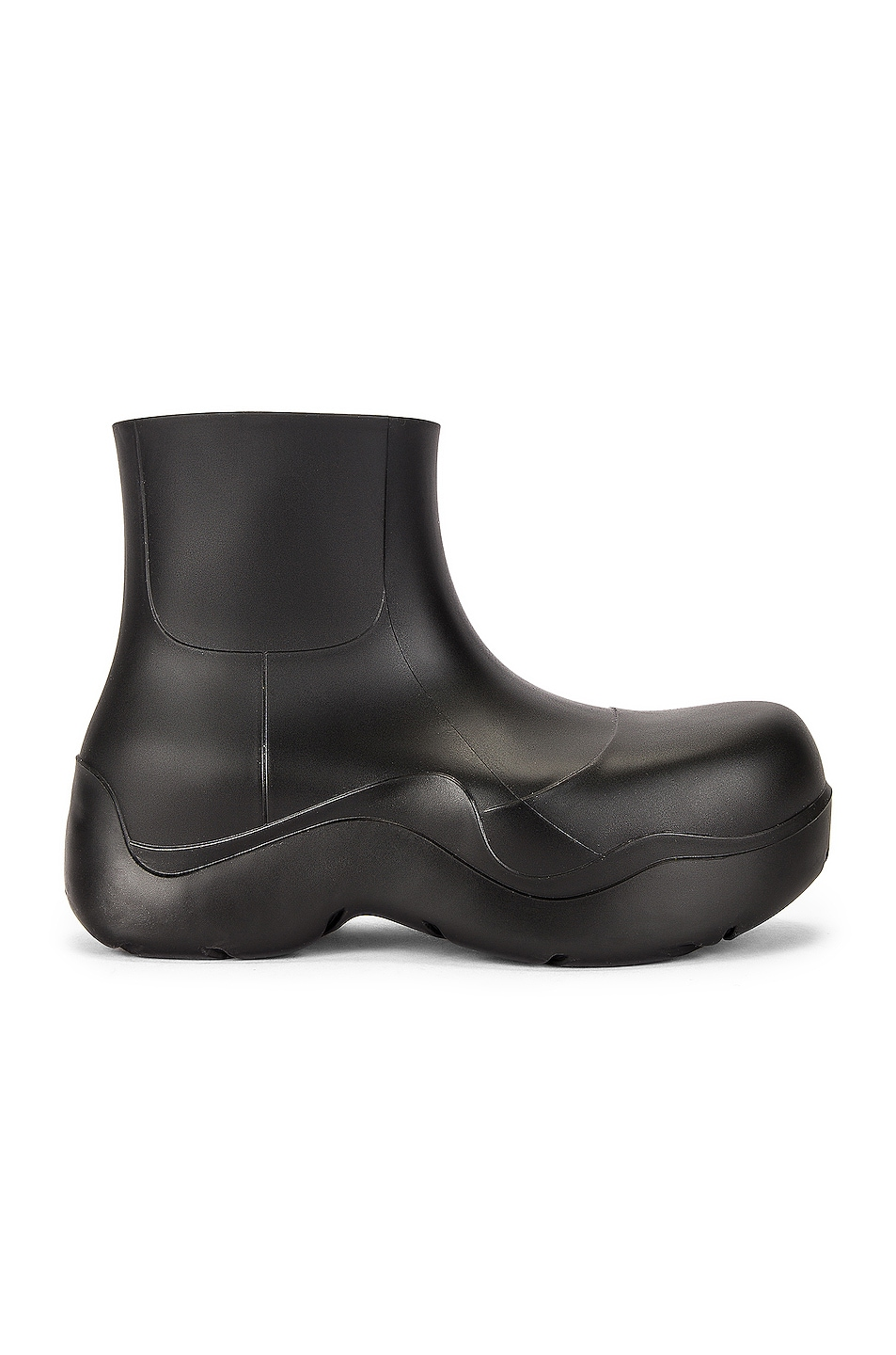 Image 1 of Bottega Veneta The Puddle Boots in Black