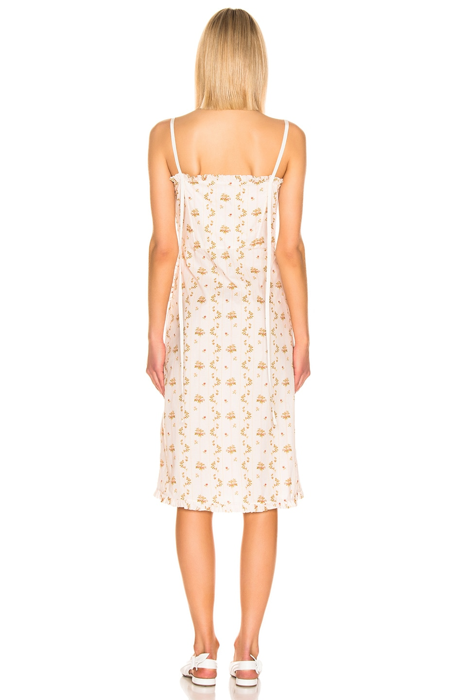Image 4 of Brock Collection Floral Dress in Open White