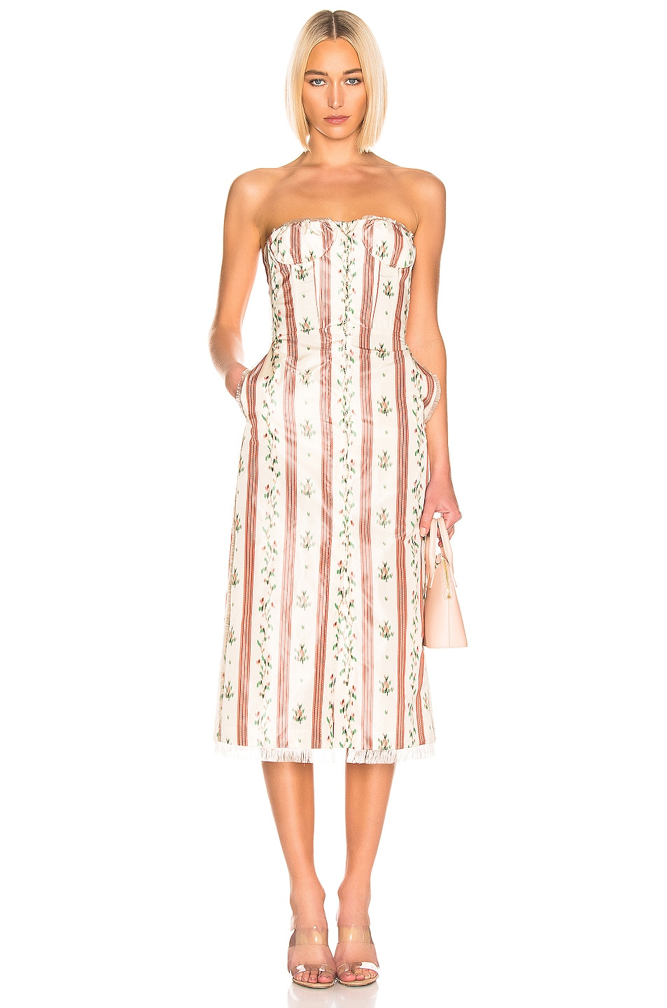 Image 1 of Brock Collection Olgha Ladies Dress in Open Pink