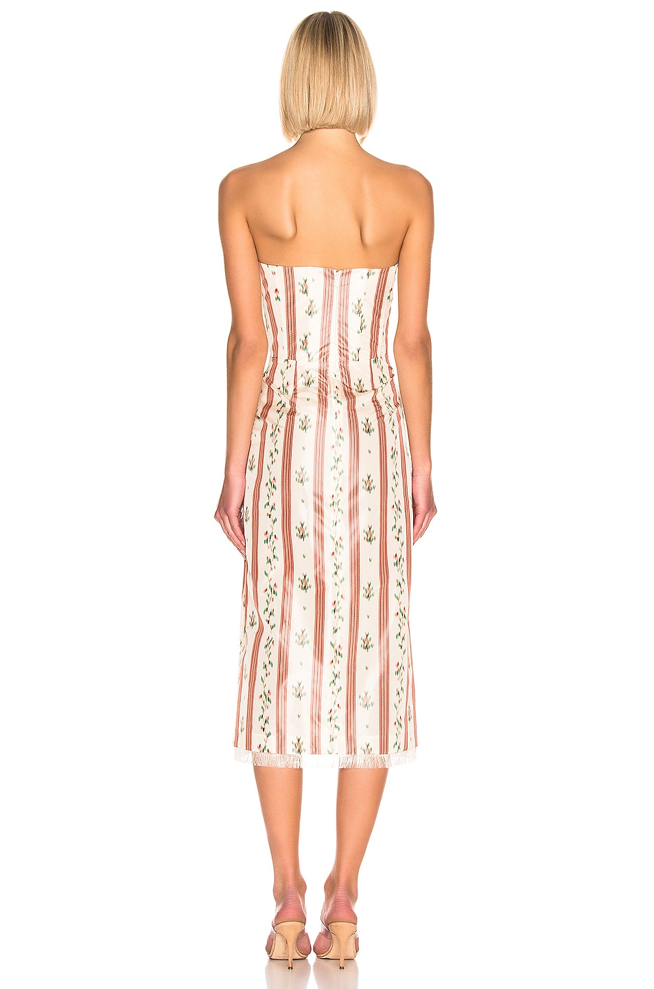 Image 3 of Brock Collection Olgha Ladies Dress in Open Pink