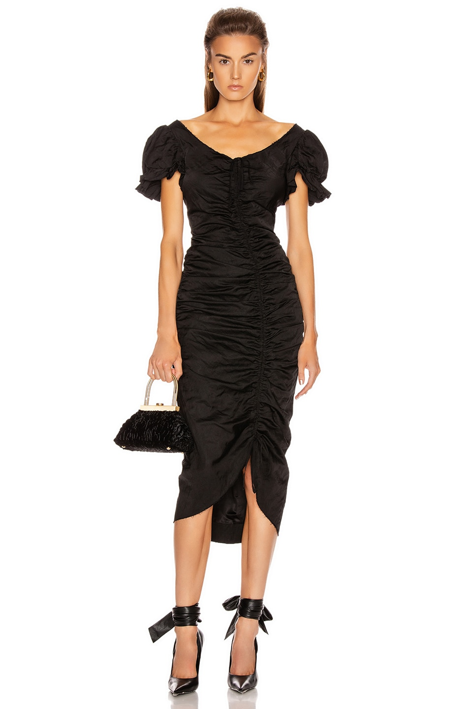 Image 1 of Brock Collection Petruska Dress in Black