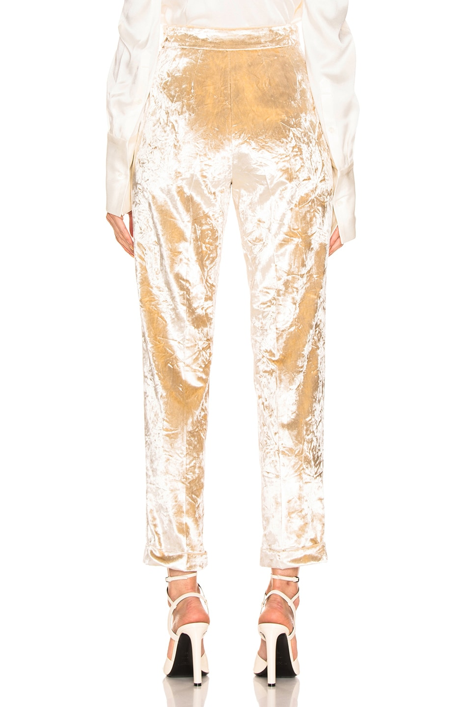 Image 3 of Brock Collection Peregrine Trousers in Cream