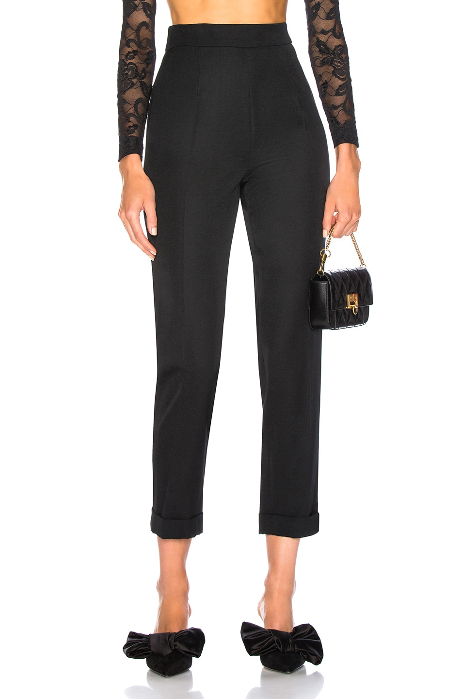 Image 1 of Brock Collection Peregrine Trousers in Black