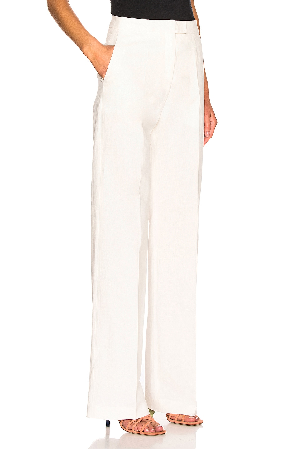 Image 2 of Brock Collection Orfeo Ladies Trousers in Natural