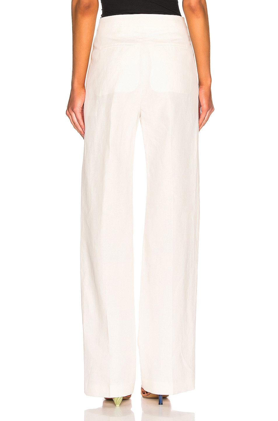 Image 3 of Brock Collection Orfeo Ladies Trousers in Natural