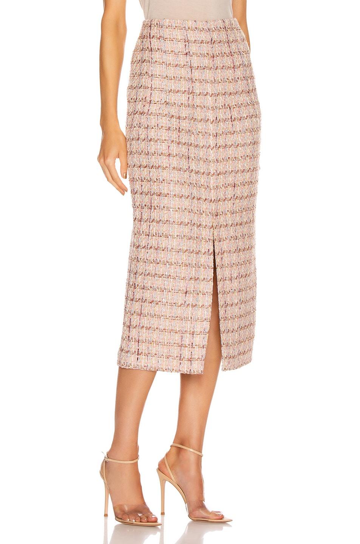 Image 2 of Brock Collection Pectolite Skirt in Medium Pink