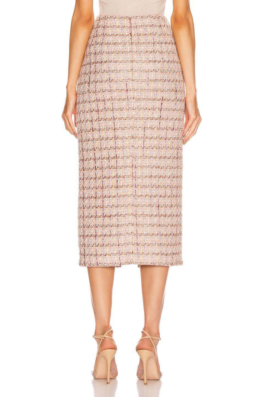 Image 3 of Brock Collection Pectolite Skirt in Medium Pink