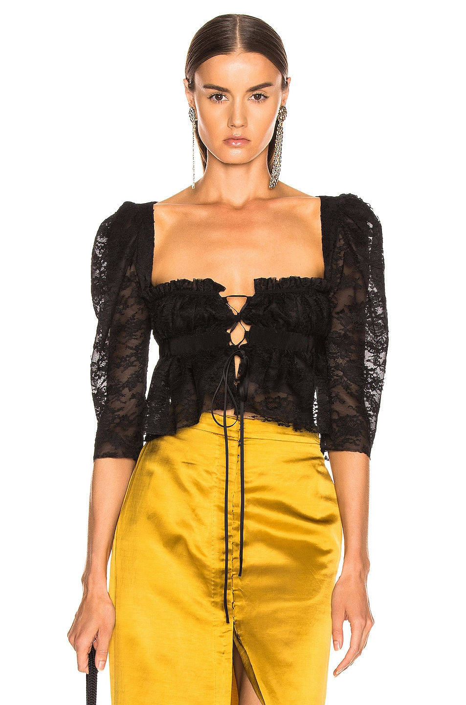 Image 1 of Brock Collection October Ladies Blouse in Black