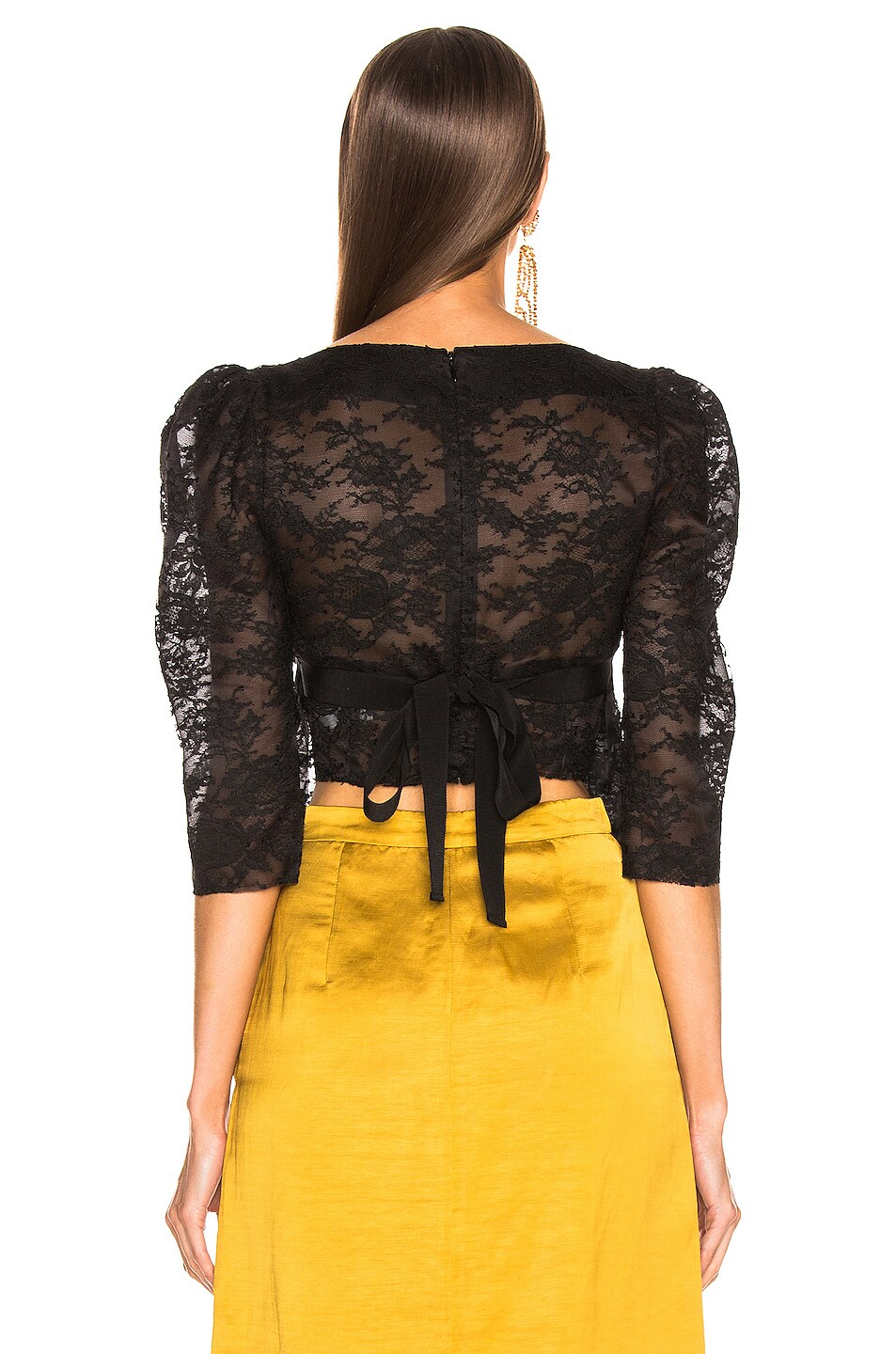 Image 3 of Brock Collection October Ladies Blouse in Black