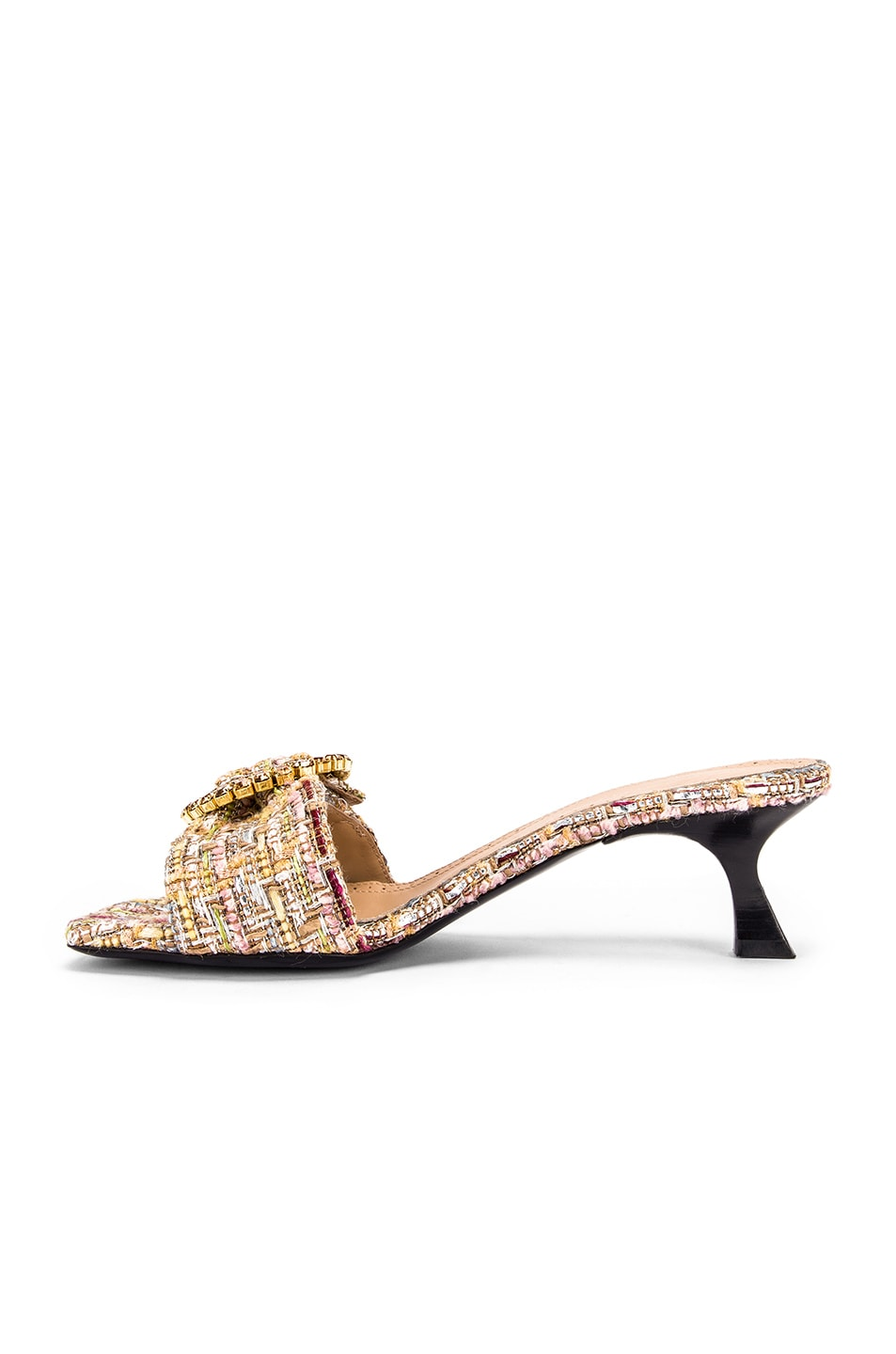 Image 5 of Brock Collection Buckle Mules in Multi