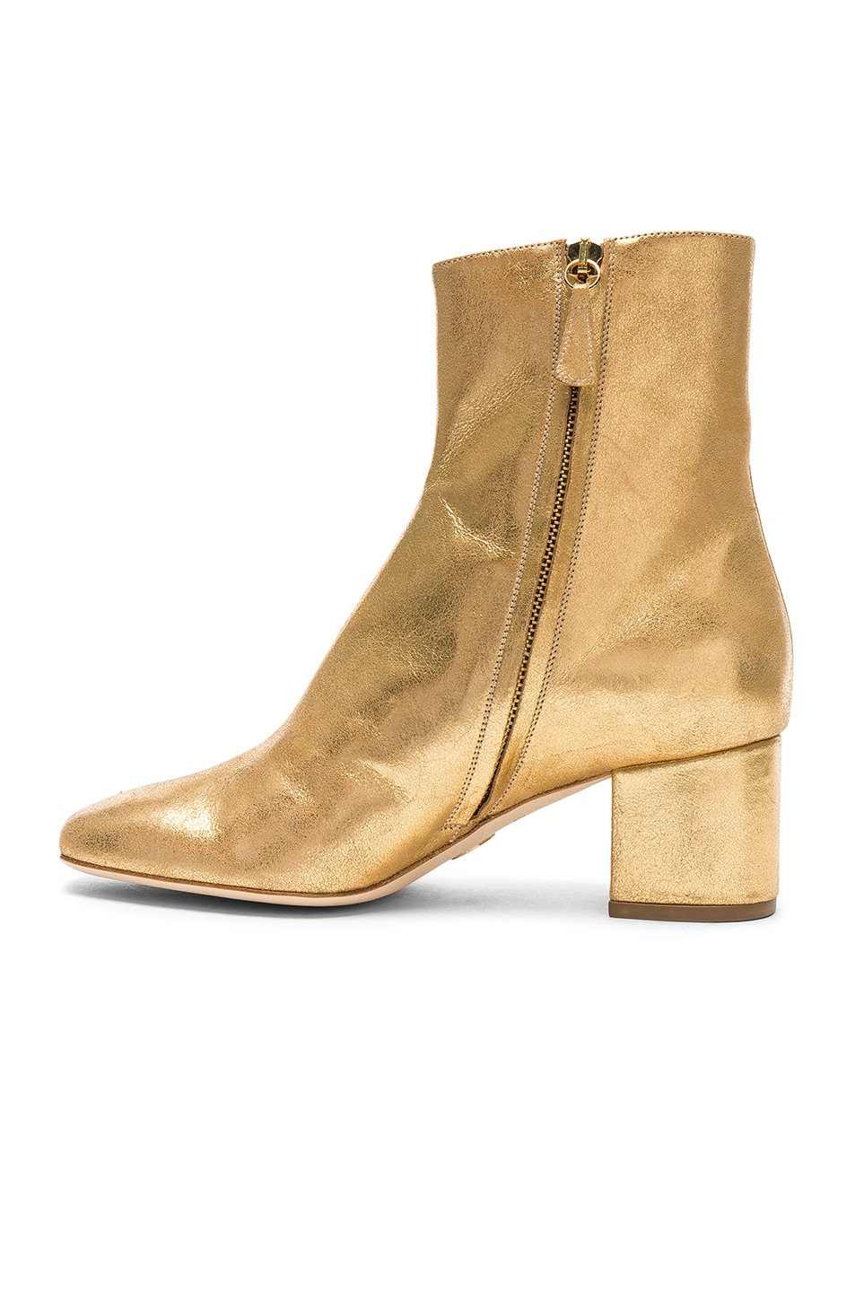 Image 5 of Brother Vellies Leather Kaya Boots in Gold Leather