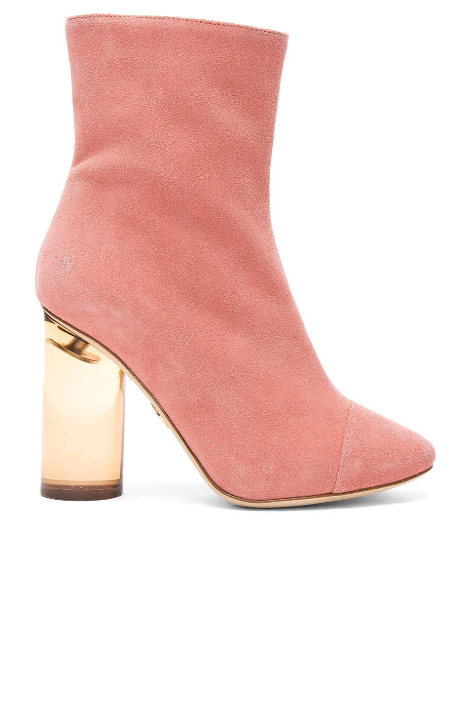 Image 1 of Brother Vellies Suede Bianca Boots in Dusty Rose Suede