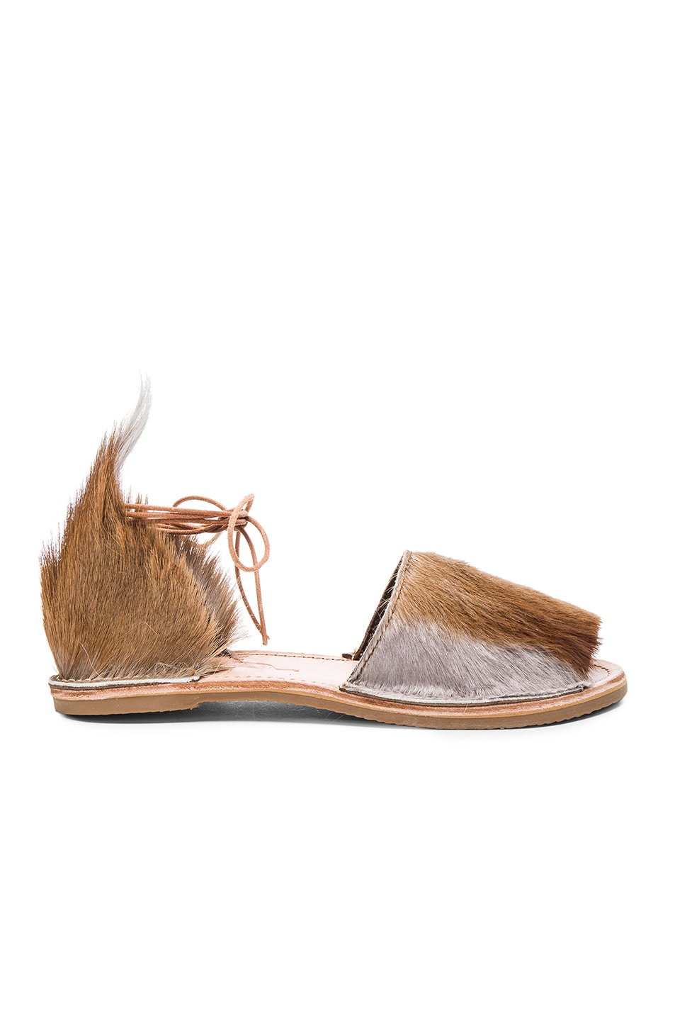 Image 1 of Brother Vellies Springbok Congo Sandal in Lavender