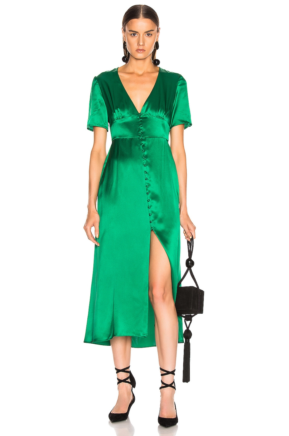Image 1 of BEAU SOUCI Spritz Dress in Green