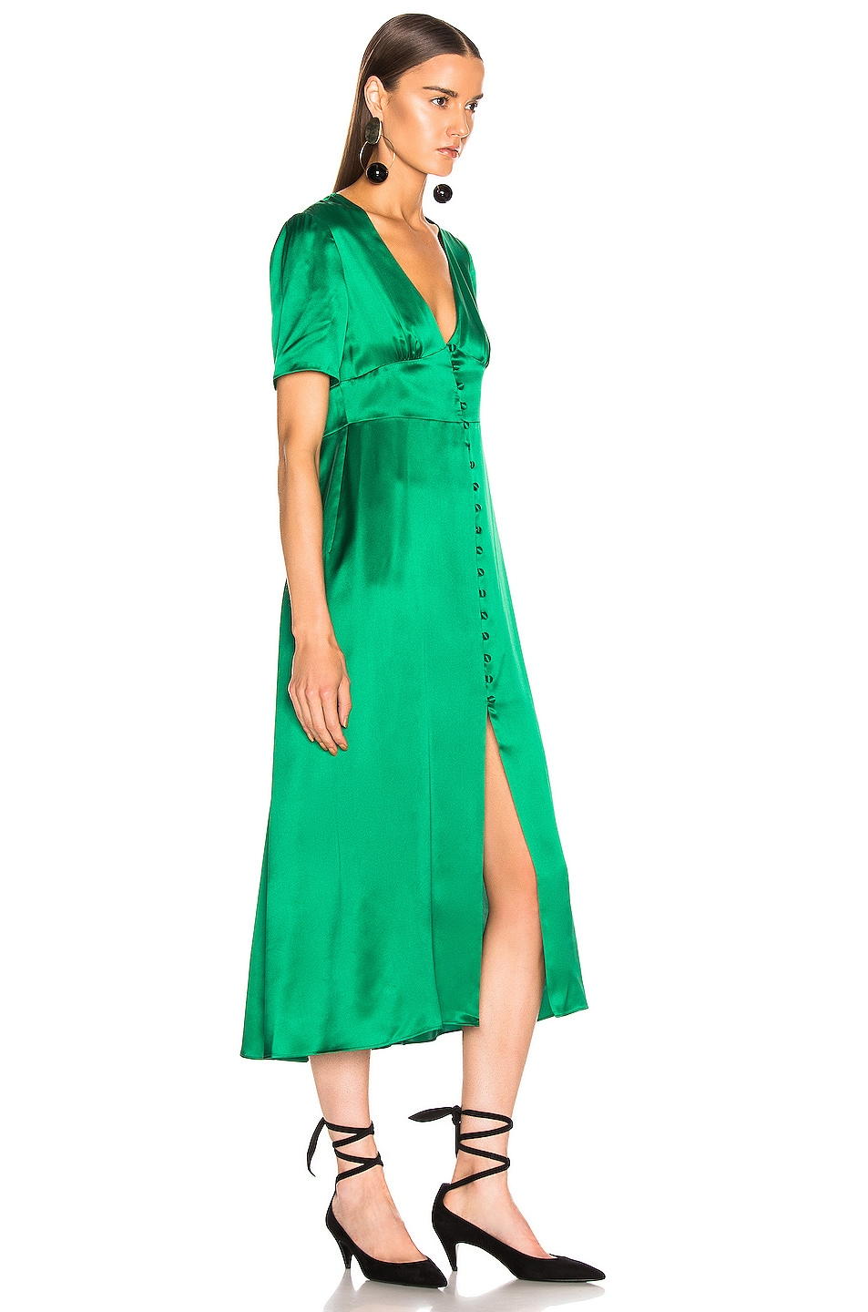 Image 2 of BEAU SOUCI Spritz Dress in Green