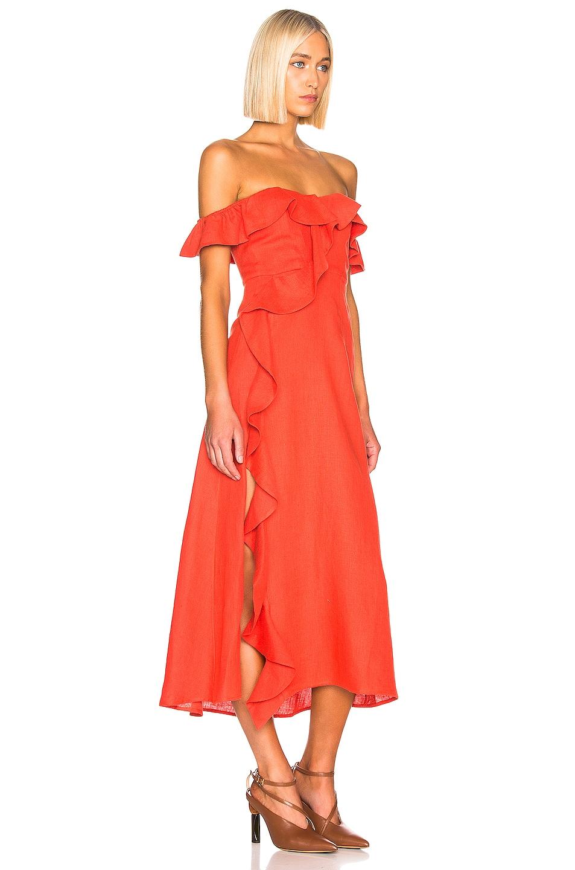 Image 2 of BEAU SOUCI Luciana Dress in Orange