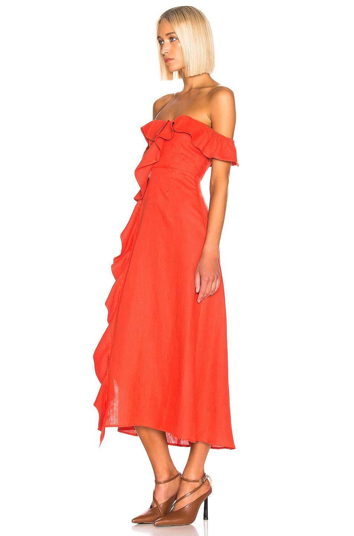 Image 3 of BEAU SOUCI Luciana Dress in Orange