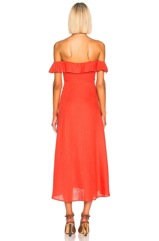 Image 4 of BEAU SOUCI Luciana Dress in Orange