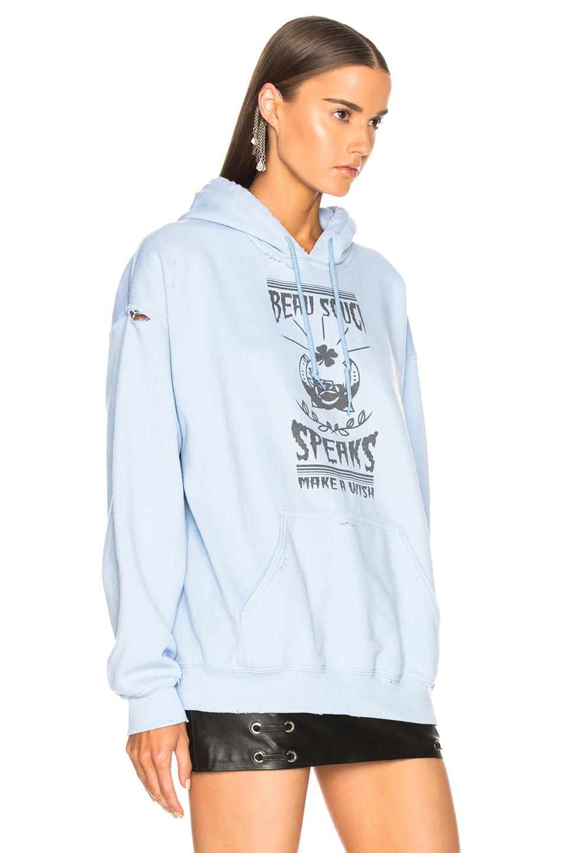 Image 2 of BEAU SOUCI Wish Hoodie in Blue