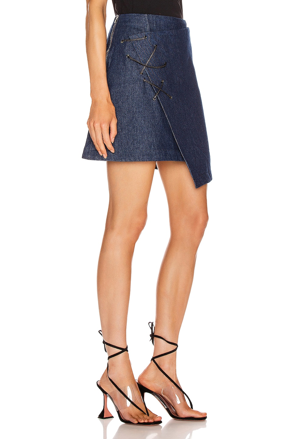 Image 2 of BEAU SOUCI Lazzaro Skirt in Blue