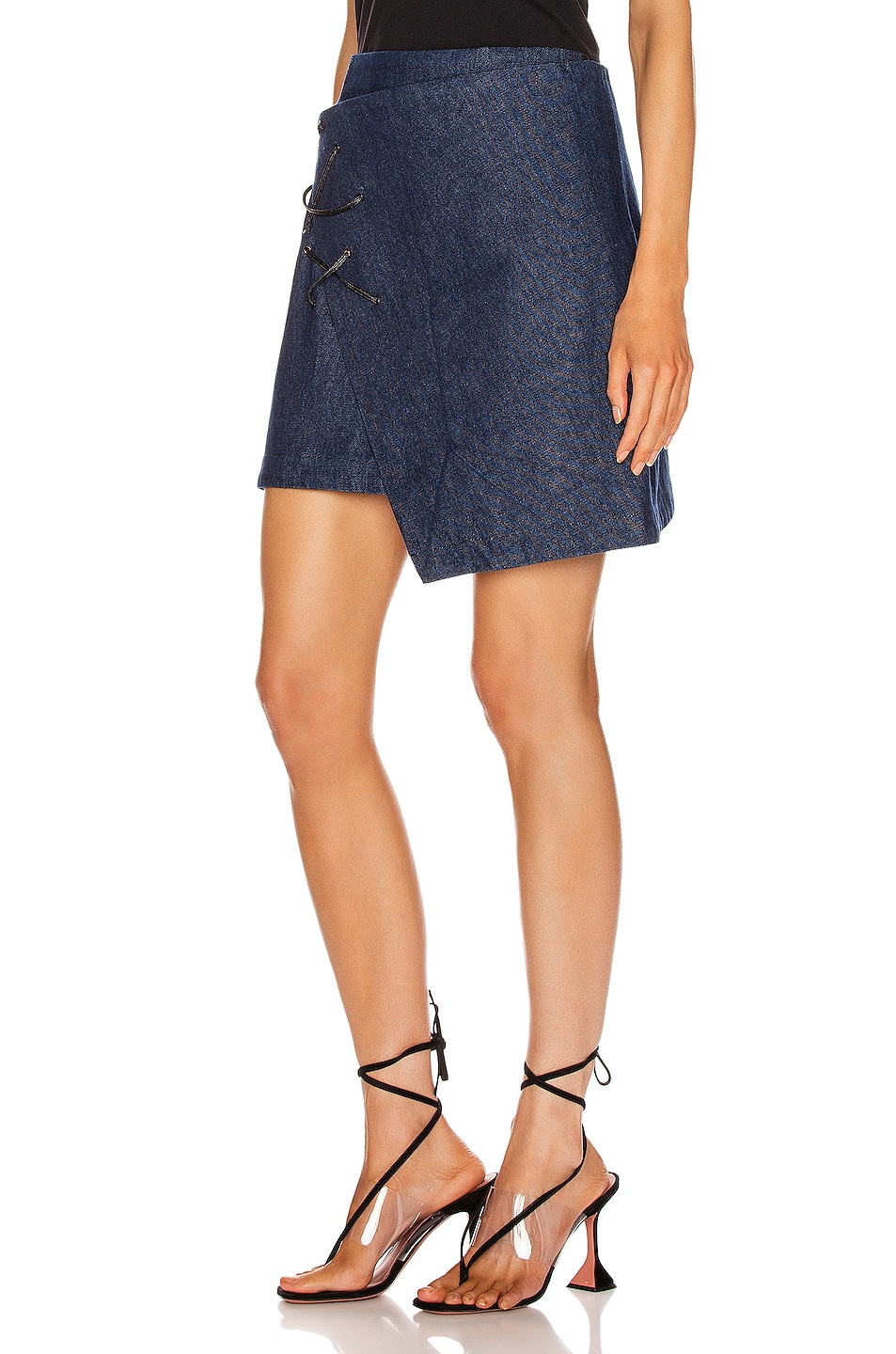 Image 3 of BEAU SOUCI Lazzaro Skirt in Blue