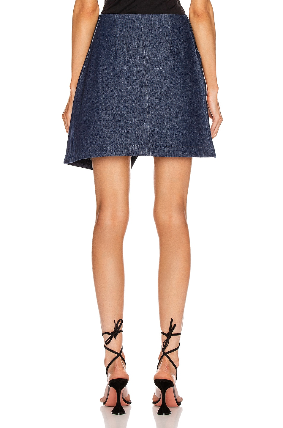 Image 4 of BEAU SOUCI Lazzaro Skirt in Blue
