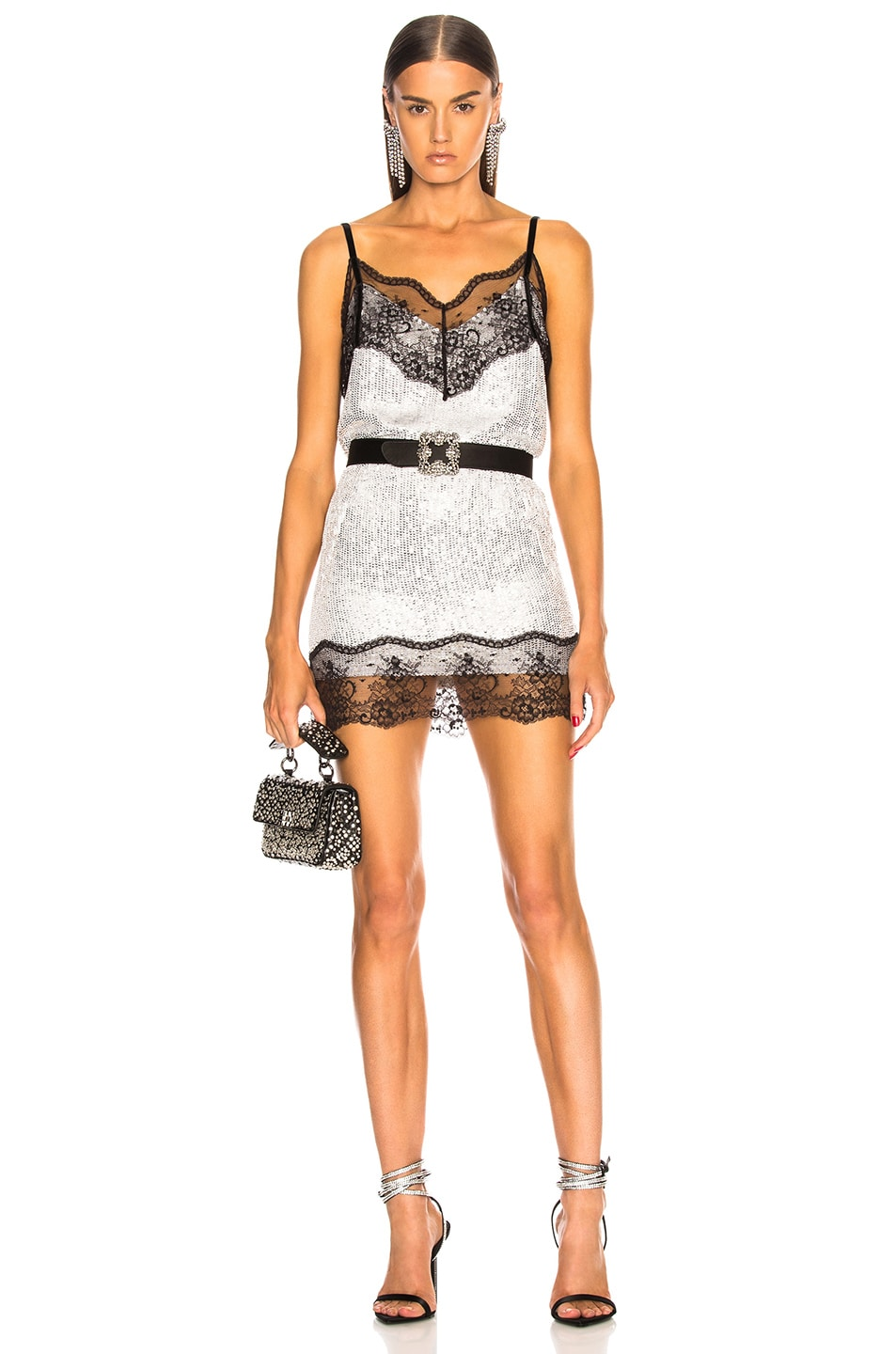Image 5 of BEAU SOUCI Saturne Sequin Cami Top in Silver