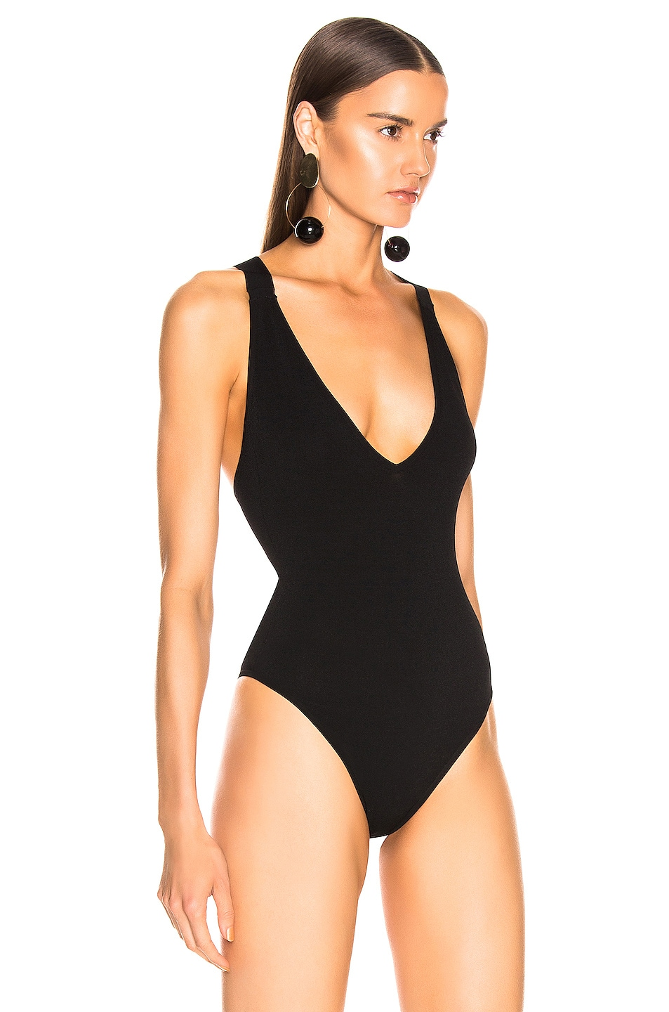 Image 3 of BEAU SOUCI Fally Bodysuit in Black
