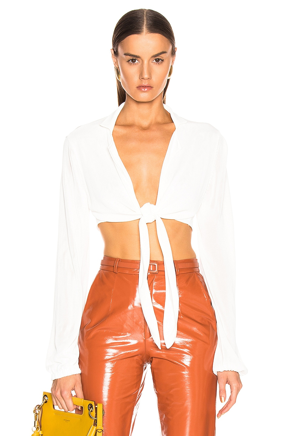 Image 1 of BEAU SOUCI Gin Top in White