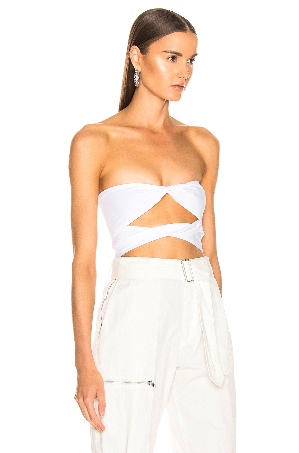 Image 2 of BEAU SOUCI Milano Top in White