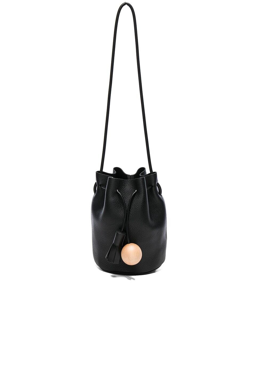Image 1 of Building Block Mini Bucket Bag in Black