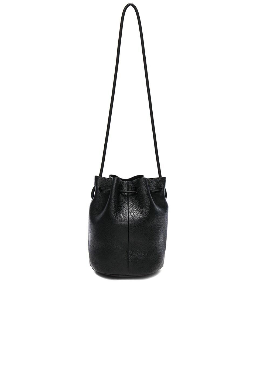 Image 2 of Building Block Mini Bucket Bag in Black