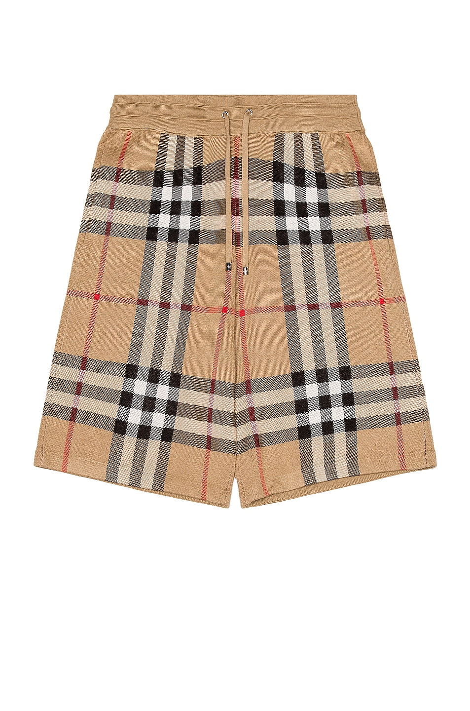 Image 1 of Burberry Weaver Shorts in Soft Fawn